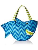 Mud Pie Surf's Up Beach Bag with Toys, Shark