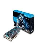 Sapphire AMD Radeon Vapor-X R9 280X Tri-X GDDR5 Graphics Card (3GB, PCI Express 3.0, HDMI, DVI-I, DVI-D, Display Port, 384 Bit)