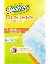 Swiffer Dusters Disposable Cleaning Dusters Refills Febreze Sweet Citrus And Zest Scent 12 Count
