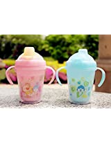 Double-Deck Straw Mug with Soft Sucking Spout, 240 ml - Attractive Drinking Mug for Your Baby
