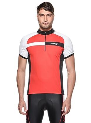 Briko Sparkling Funktionsshirt Man (rot weiß schwarz)