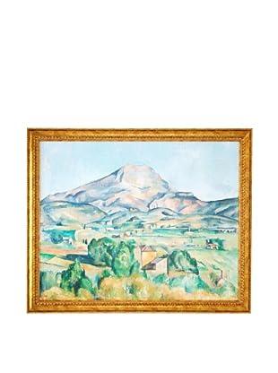 Paul Cézanne: Mont Sainte-Victoire (La Montagne Sainte-Victoire), 1892-1895