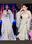 White Lehenga Choli In Madhuri Dixit At Jhalak Dikhhla Jaa/230