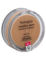 Neutrogena Healthy Skin Compact Makeup Spf 55 With Helioplex, Soft Beige 50, 0.35 Ounce (Pack of 2)