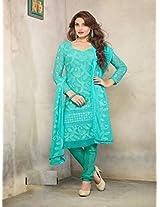 1470_Latest Sky Karachhi Salwar Suit