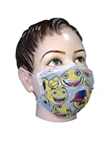 Filtra Disposable Children's/Ladies Air Pollution Cartoon Face Mask with Activated Carbon 50 Pcs (TT-4TOONEM-AC-145)