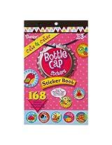WeGlow International Bottle Cap Stickers Book - Cute & Cuter - 168 Stickers (4-Pack)