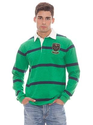 Gant Polo Rayas (Verde)