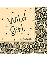 Lolita by CR Gibson Paper Cocktail Napkins, Package 20, Leopard