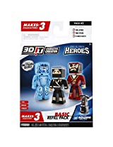 3D Character Creator City Heroes Style 2 Basic Refill Pack Novelty Toy