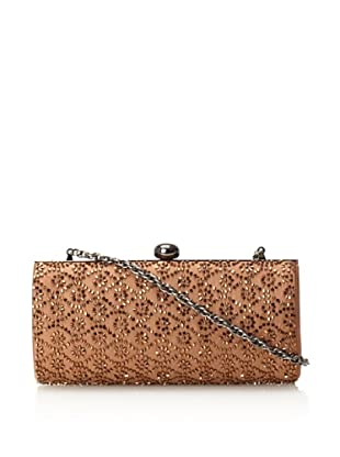 Inge Christopher Women's Beaded Wallpaper Clutch (Copper)