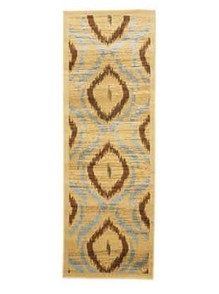 Ikat Casual Rug, Camel, 2' 5