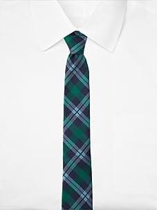 Original Penguin Men's Duvall Plaid Tie (Green)
