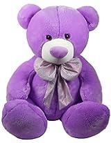 Archies Soft Toy Bear, Purple (40cm)