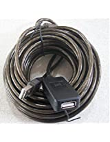 USB 2.0 MALE TO FEMALE EXTENSION CABLE 10 METER WITH SIGNAL AMPLIFICATION IC