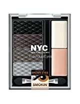 (3 Pack) NYC Individualeyes Custom Compact - Smokey Browns