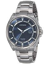 Citizen Analog blue Dial Men's Watch - AW1401-50L