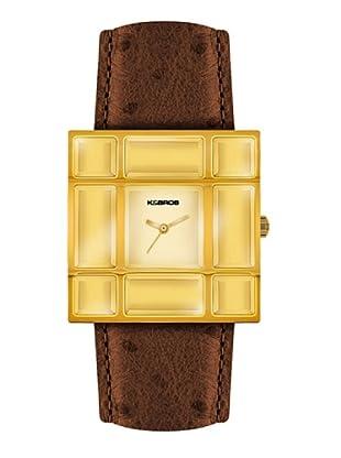 K&BROS 9170-3 / Reloj de Señora  con correa de piel marrón