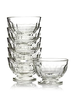 La Rochère Set of 6 Perigord Decor Appetizer Bowls, 4.5-oz.