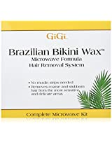 Gigi Brazilian Bikini Wax Microwave Kit 16 Ounce