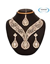 Classy Bridal Necklace Jewelry