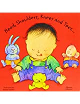 Head, Shoulders, Knees and Toes in Albanian and English (Board Books)