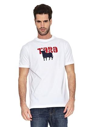 Toro Camiseta Print Toro (Blanco)