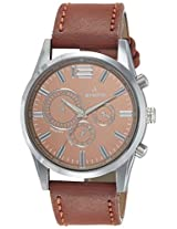 Aveiro Analog Brown Dial Men's Watch-AV5MULTILTR