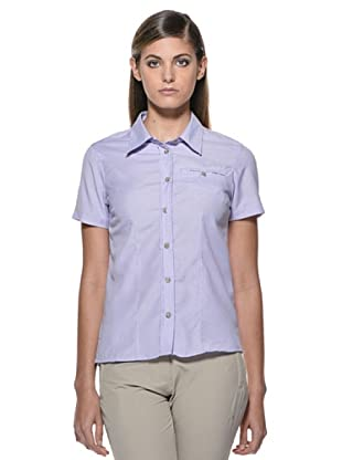 Fratelli Campagnolo Camisa Bolsillo Gillet (Violeta / Blanco)
