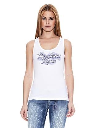 Pepe Jeans London Camiseta Vicky (Blanco)
