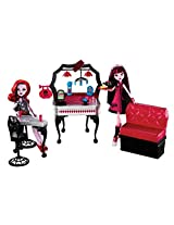 Monster High Die-Ner Playset With Draculaura and Operetta Dolls