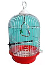 Petshop7 Pet Bird Cage Finchs And Love Birds and Small Birds-(SMALL SIZE) -RED