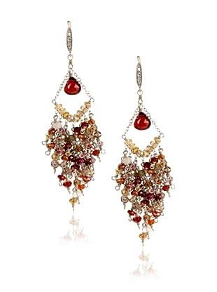 Leslie Danzis Silver Chandelier Earrings