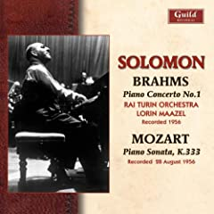 Solomon Plays Brahms &amp; Mozart