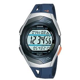 CASIO (カシオ) 腕時計 PHYS フィズ ランナーウォッチ LAP MEMORY60 TOUGH BATTERY10 STR-300J-2AJF