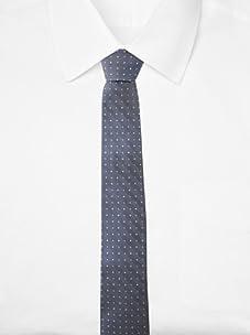 Original Penguin Men's Pacific Neat Tie, One Size (Cornflower)