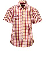 Red Casual Shirt Gini & Jony