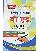 IGNOU B.Ed - E.S. 362