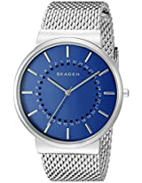 Skagen Ancher Analog Blue Dial Men's Watch - SKW6234