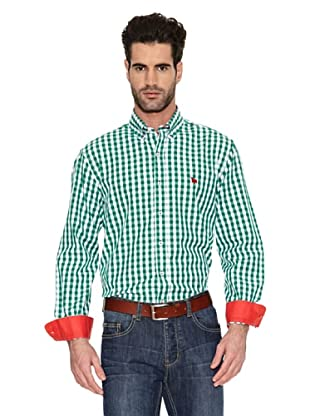 Toro Camisa Cuadros Logo Small (Verde)