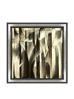 Clive Watts A Charcoal Study For An Abstract Composition Framed Print On Canvas, Multi, 28.75