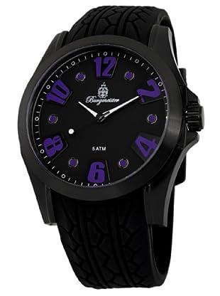 Burgmeister Herren-Armbanduhr XL Analog Quarz Silikon BM606-622E