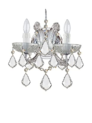 Gold Coast Lighting Reagan Wall Sconce, Chrome