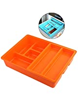 Mabalo Tableware and Cutlery Organizer, 1Piece, Color : Orange