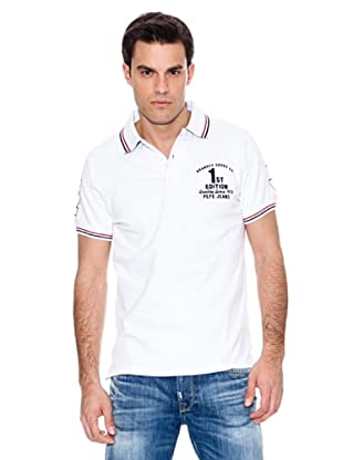 Pepe Jeans London Polo Zidane (Blanco)
