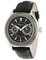 Salvatore Ferragamo Men's FQ1070013 Lungarno Stainless Steel Automatic Sub-Seconds Date Watch