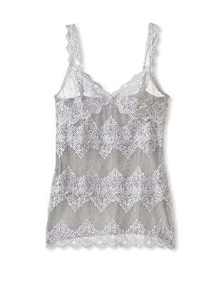 Only Hearts Women's So Fine Lace Front Camisole (Heather Grey)