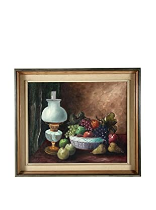 Fruit Bowl Still Life, 1951 Framed Artwork