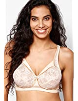 Beige Non Wired-Non Padded Bra Enamor