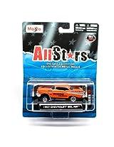 1957 Chevrolet Bel Air (Orange) * All Stars Series 13 * 2013 Maisto 1:64 Scale Die-Cast Collection